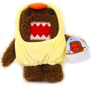 "Domo - Easter 5"" Plush in Baby Chick Costume"
