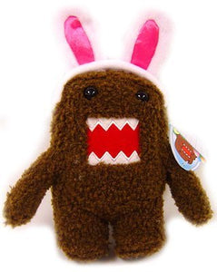 "Domo - Easter 5"" Spring Plush with Bunny Ears."