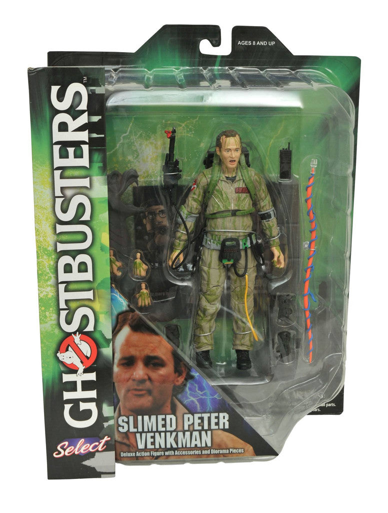 Ghostbusters - Slimed Peter Venkman 7