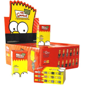 "Simpsons Mania Series - 3"" Qee Keychain (1 Random Blind Box)"