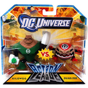 "DC Universe Action League - Kilowog vs Zilius Zox 2.25"" Mini Figure 2-Pack"