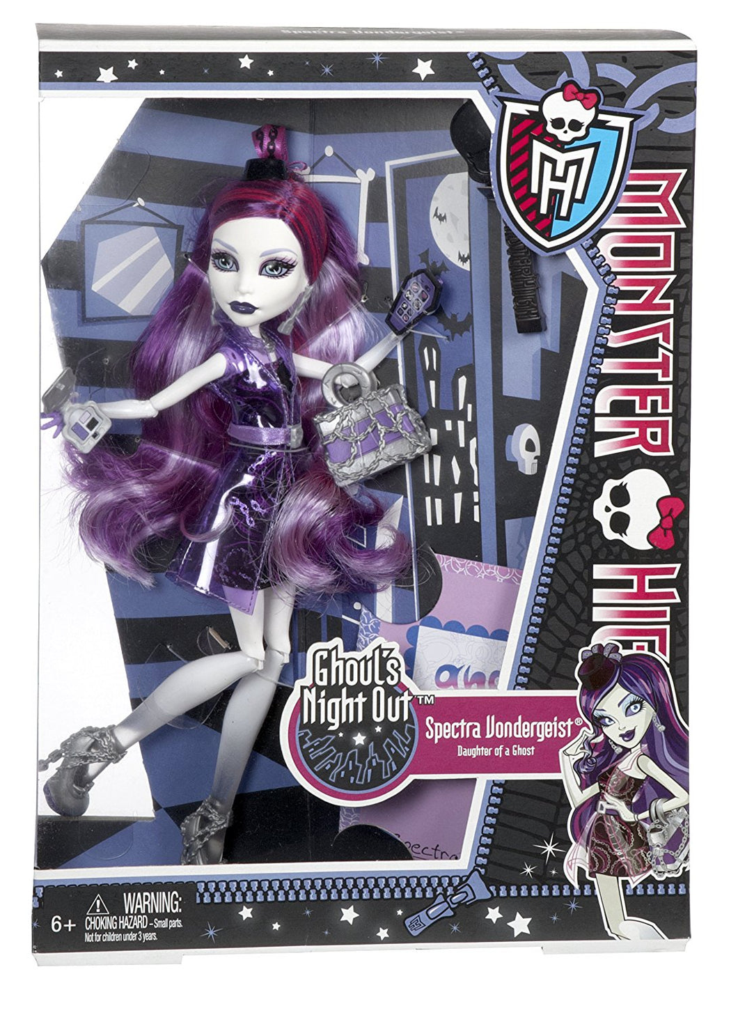 Monster High Ghoul's Night Out - Spectra Vondergeist Doll