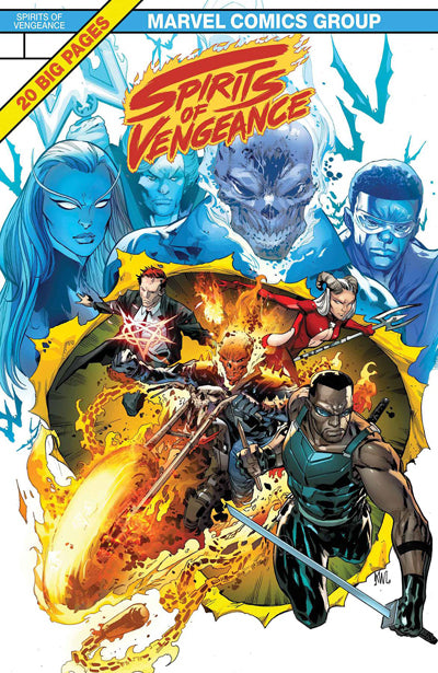 Spirits of Vengeance #1 (of 5) [LEGACY]