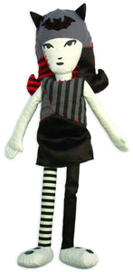 "Emily the Strange 15"" Rag Doll"