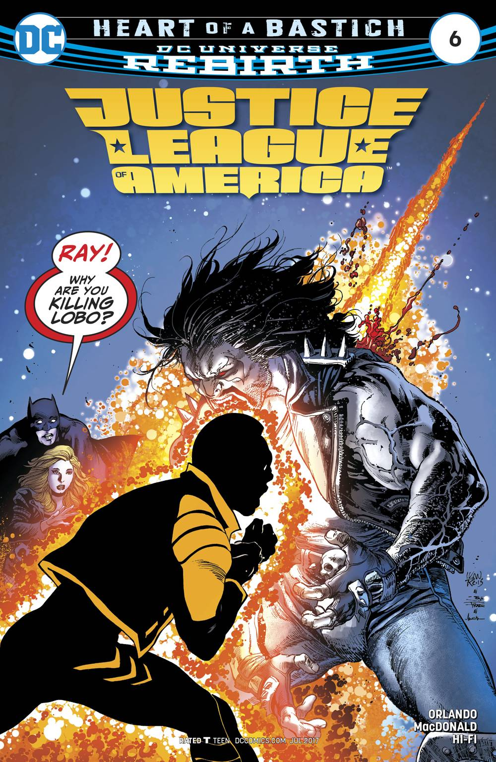 Justice League of America, Vol. 5 #6