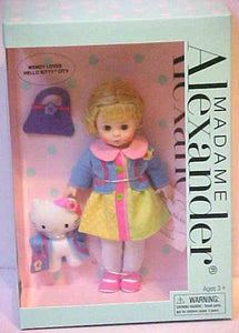 "Madame Alexander - Wendy 8"" Doll Loves Hello Kitty in the City"
