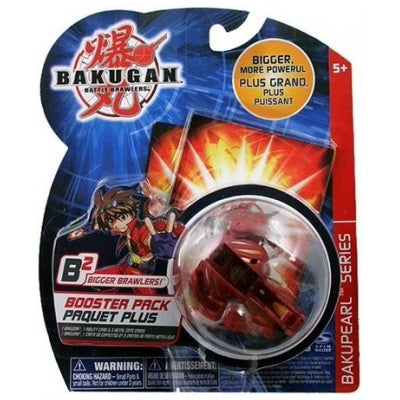 Bakugan Limulus Red Pyrus B2 Bakupearl Booster Pack & Cards