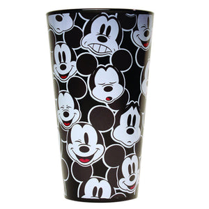 Disney Mickey Faces Pint Glass, 16-Ounces