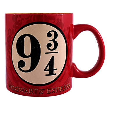 Harry Potter and the Sorcerer's Stone Platform 9 and 3/4 Jumbo Ceramic Mug, 20 oz.