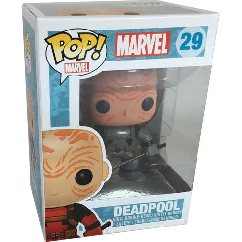 Funko Pop PX Marvel - Deadpool Figure in Gray X-Force Outfit