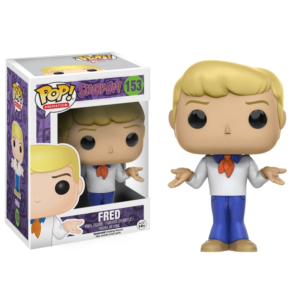 Funko Pop Hanna Barbera Scooby Doo - Fred Figure