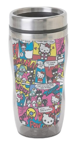 Hello Kitty Comic Mix Stainless Steel 16 Oz. Mug