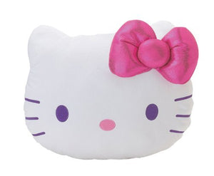 "Hello Kitty Jewel Collection Face Cushion Plush 18"" Pillow"