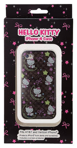 Hello Kitty IPhone 4 / 4S Moon & Stars Clear Case