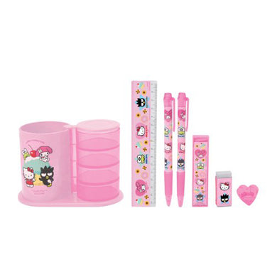 Sanrio Hello Kitty Organizer / Stationery Set with pencil holder