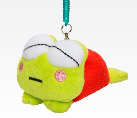 Keroppi Asleep Plush Mobile Screen Cleaner