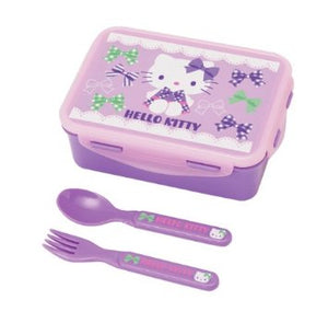 Hello Kitty Purple Ribbon Lunch Container