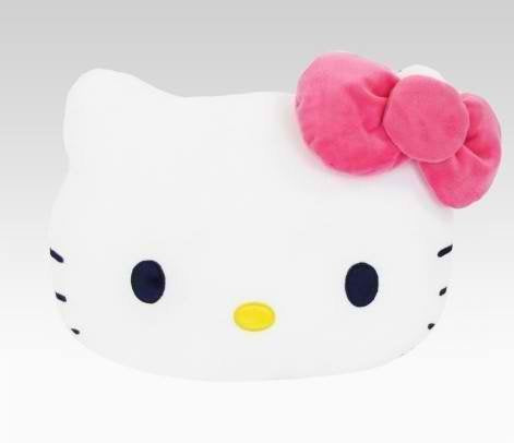 Hello Kitty Hibiscus Collection Face Plush 16