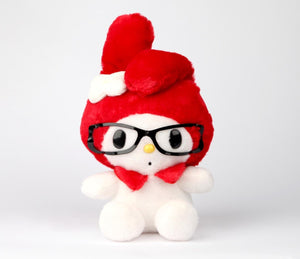 "My Melody Nerd 8"" Plush in Glasses"