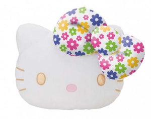 "Hello Kitty 18"" Flowery Pillow"