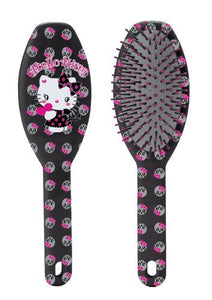 "Hello Kitty 9"" Black Brush - Little Devil Collection with Skulls"