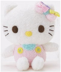 "Hello Kitty Sugar Collection 4"" Sitting Mascot Plush"