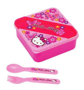 Hello Kitty Butterfly Collection Square Lunch Container