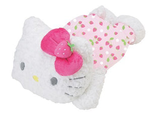 "Hello Kitty Strawberry Pattern Collection Huggable 22"" Plush Pillow"