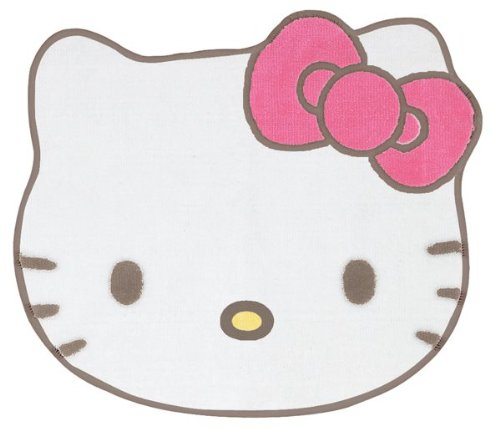 Hello Kitty Strawberry Die-cut Face Bath Mat