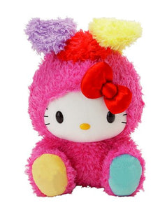 "Hello Kitty Vivid Rabbit 12"" Plush"