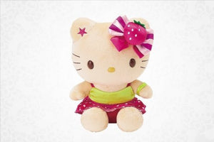 "Hello Kitty Sundae Collection 10"" Plush"