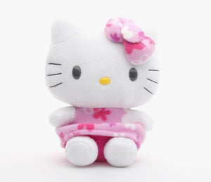 "Hello Kitty Flower Pattern Collection 12"" Plush"