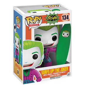 Funko Pop DC Comics Batman Classic TV - Surf's Up! Joker Figure
