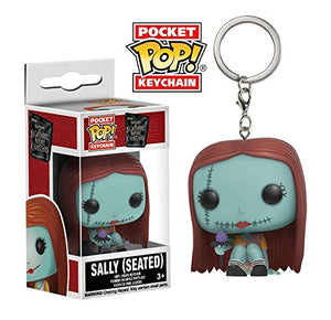 the nightmare before christmas sally seated pocket pop key chain