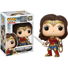 Funko Pop DC Comics Justice League Movie - Wonder Woman Figure