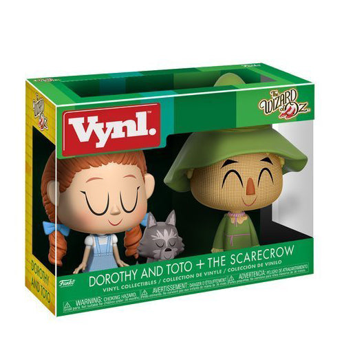 Funko Vynl Wizard of Oz - Dorothy & Scarecrow Figure 2-Pack