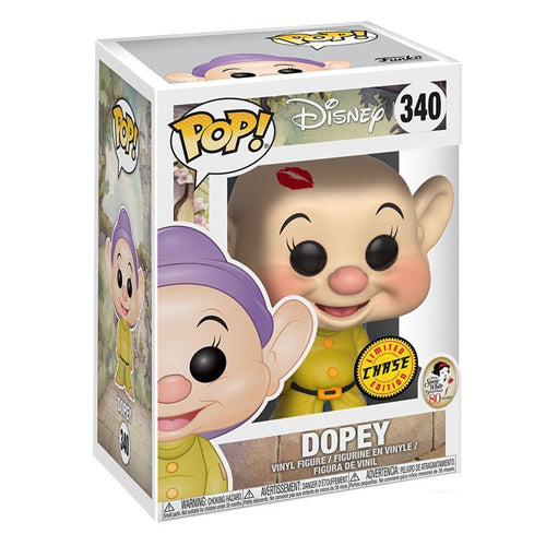 Funko Pop Disney Snow White - Dopey Dwarf Chase Figure