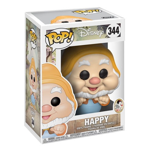 Funko Pop Disney Snow White - Happy Dwarf Figure
