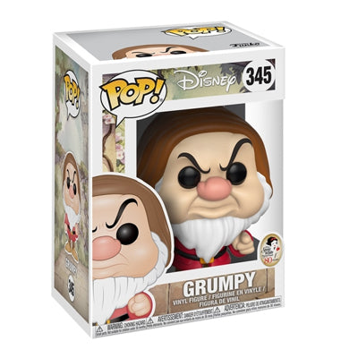 Funko Pop Disney Snow White - Grumpy Dwarf Figure