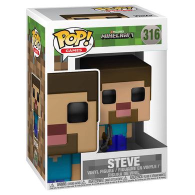 Funko Pop MineCraft Steve Figure