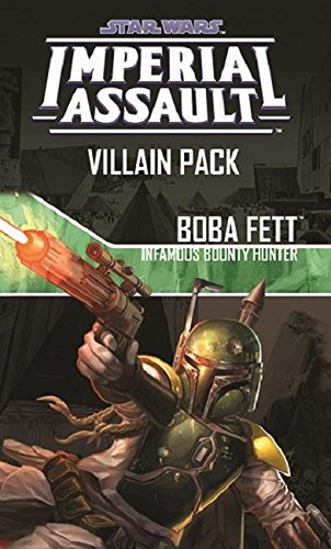 Star Wars Imperial Assault Game's Villain Pack - Boba Fett, Infamous Bounty Hunter