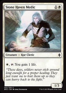MTG BFZ 051/274 - Stone Haven Medic