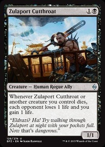 MTG BFZ 126/274 - Zulaport Cutthroat