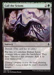 MTG BFZ 165/274 - Call the Scions