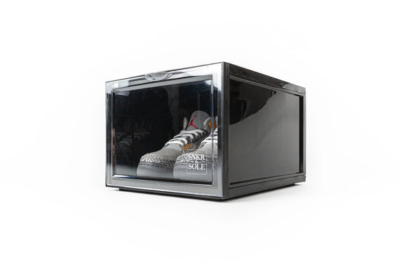 SNEAKER STORAGE BOX (BLACK) SINGLE