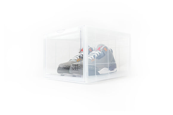SNEAKER STORAGE BOX (CLEAR) SINGLE