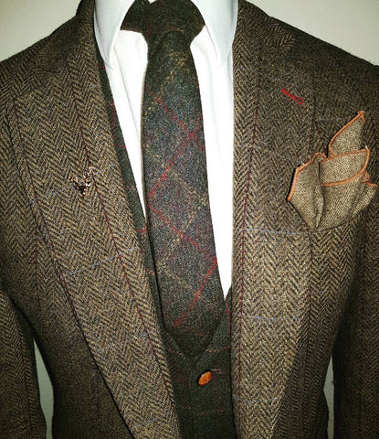 tweed_tie_pocket_square_tweed_look_tweed_outfit_gent_mens_society_gent