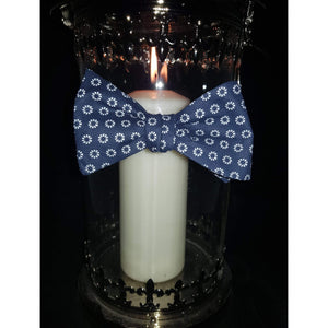 Blue Foulard Self-Tie Bow Tie-bow ties-Society Gent