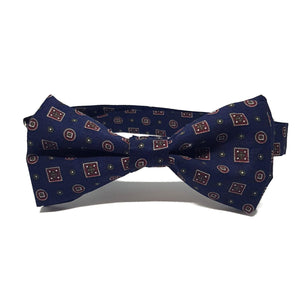 The Westminster - Blue Pre-Tied Bow Tie-bow ties-Society Gent