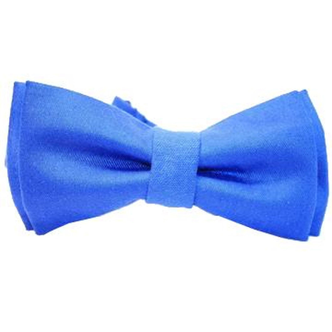 Cornflower Blue Bow Tie-bow ties-Society Gent